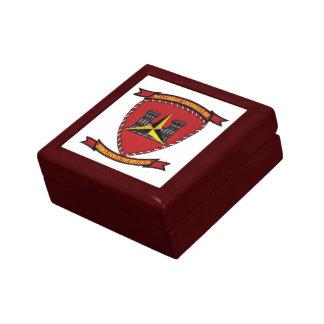 3rd Combat Engineer Battalion Jewelry Box