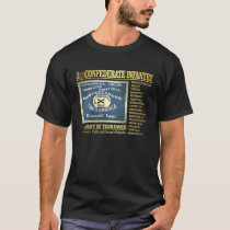 3rd Confederate Infantry (BA2) T-Shirt