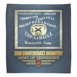 3rd Confederate Infantry Bandana