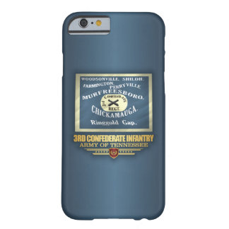 3rd Confederate Infantry Barely There iPhone 6 Case