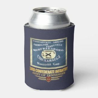 3rd Confederate Infantry Can Cooler