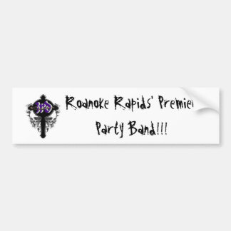 3rd_Cove, Roanoke Rapids' Premier Party Band!!! Bumper Sticker