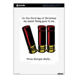 3rd Day Redneck Christmas iPad 3 Skin