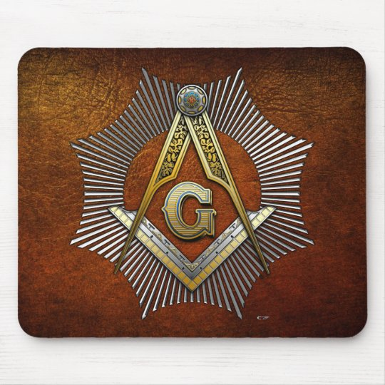 3rd Degree: Master Mason Mouse Pad