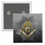 3rd Degree: Master Mason Pinback Buttons