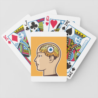 3rd Eye Vector illustration Bicycle Playing Cards