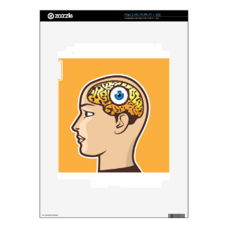 3rd Eye Vector illustration Decals For iPad 2