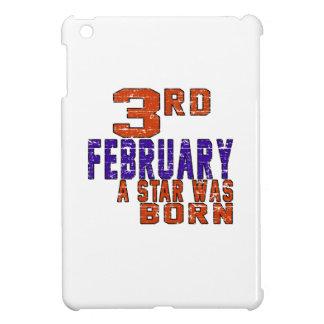 3rd February a star was born iPad Mini Cases