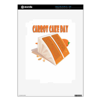 3rd February - Carrot Cake Day Skin For iPad 2