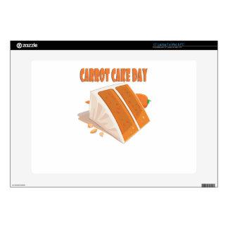 """3rd February - Carrot Cake Day Skins For 15"""" Laptops"""