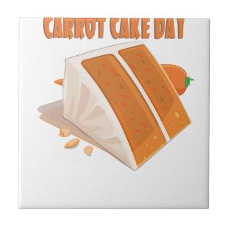 3rd February - Carrot Cake Day Tile