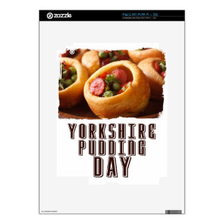 3rd February - Yorkshire Pudding Day Decal For iPad 2