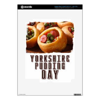 3rd February - Yorkshire Pudding Day Decals For iPad 3