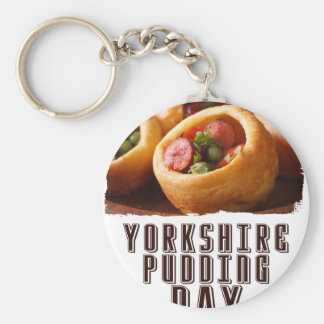 3rd February - Yorkshire Pudding Day Keychain