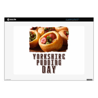3rd February - Yorkshire Pudding Day Laptop Skin