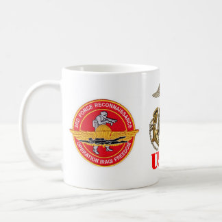 3rd FORCE RECON IRAQ Classic White Coffee Mug