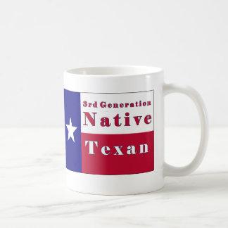 3rd Generation Native Texan Flag Mug
