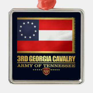 3rd Georgia Cavalry (F10) Metal Ornament