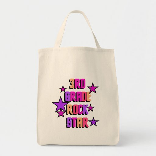 3rd Grade Rock Star Tshirts and Gifts Bags