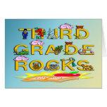 3rd Grade Rocks Card
