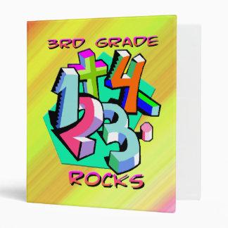 3rd Grade Rocks - Numbers Binder