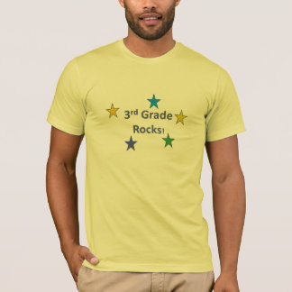 3rd Grade Rocks Shirt for Teachers and Students