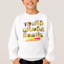 3rd Grade Rocks Sweatshirt