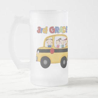 3rd Grade School Bus Coffee Mugs