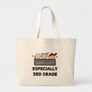 3rd Grade School is Cool Large Tote Bag