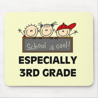 3rd Grade School is Cool Tshirts and Gifts Mouse Mat