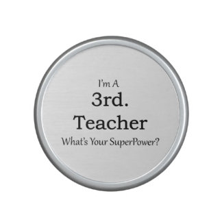 3rd. Grade Teacher Bluetooth Speaker