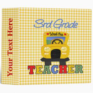 3rd Grade Teacher Gift Binder