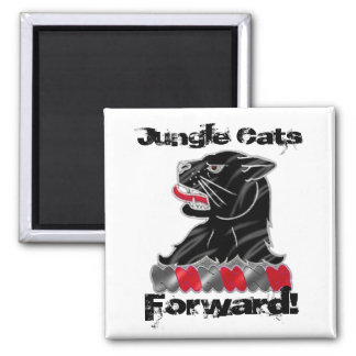 3rd ID 11th Engineer Battalion 2 Inch Square Magnet