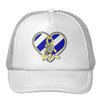 3rd id army wife trucker hat