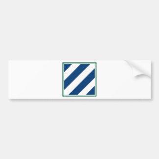 3rd Infantry Division Car Bumper Sticker