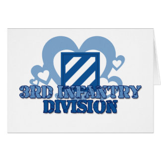 3rd Infantry Division Card