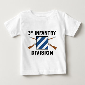 3rd Infantry Division - Crossed Rifles Baby T-Shirt