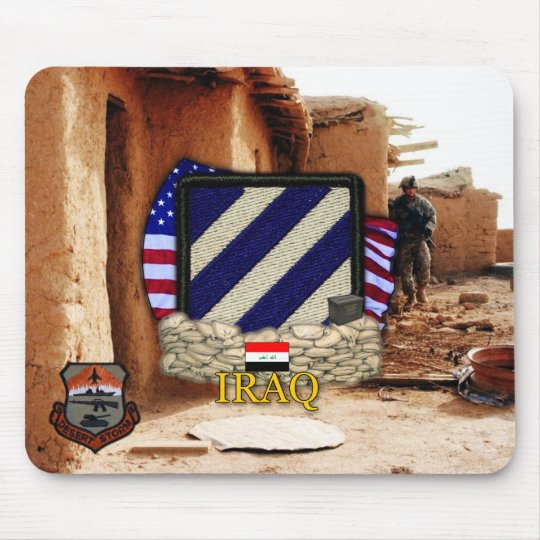 3rd infantry division gulf war vets Mousepad
