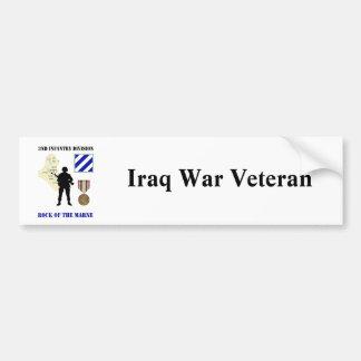 3rd Infantry Division Iraq War Vet Bumper Stickers