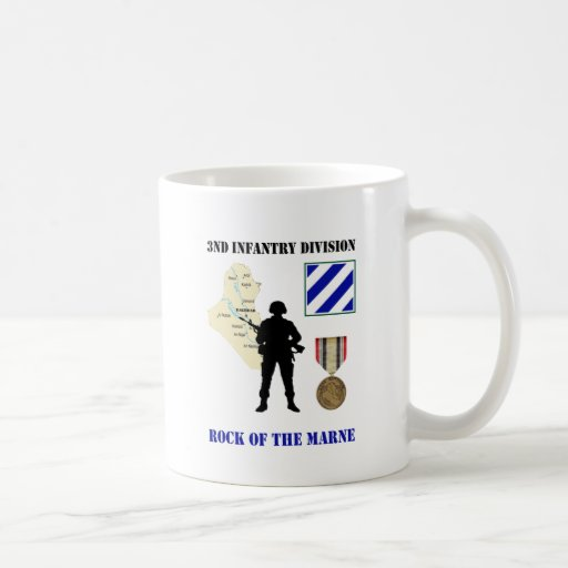3rd Infantry Division Iraq War Vet Coffee Cup Coffee Mugs