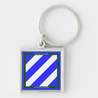 3rd Infantry Division Keychains