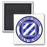 3rd Infantry Division Magnets