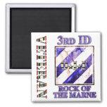 3rd Infantry Division OIF Veteran Fridge Magnet