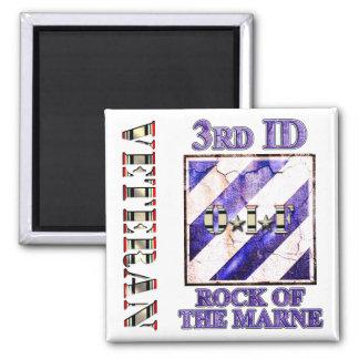 3rd Infantry Division OIF Veteran Magnet