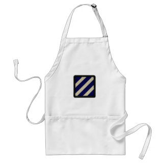 3rd infantry division patch vets bbq apron