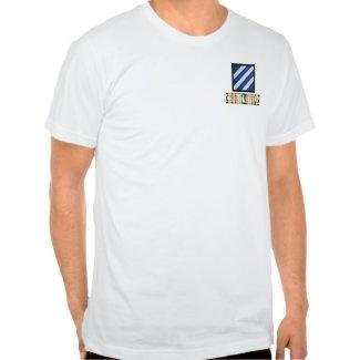 3rd Infantry Division SWA Combat Veteran Shirt