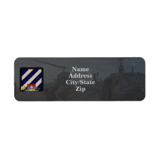 3rd infantry division vietnam nam patch labels