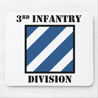 3rd Infantry Division W/Text Mouse Pad