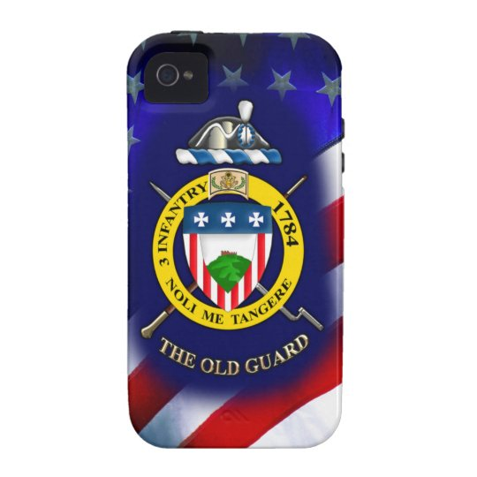 """3rd Infantry Regiment """"The Old Guard"""" iPhone 4 Cover"""