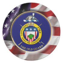 "3rd Infantry Regiment ""The Old Guard"" Melamine Plate"